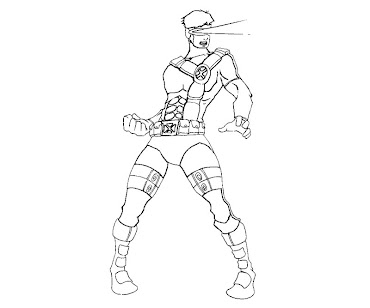 #2 Cyclops Coloring Page