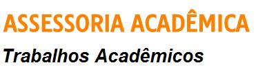 ASSESSORIA ACADÊMICA - Trabalhos Acadêmicos