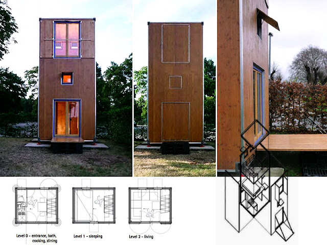 Professor Han Slawik Container house