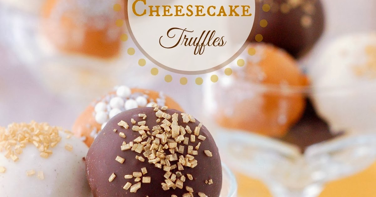 The Sweet Chick: Gingerbread Cheesecake Truffles