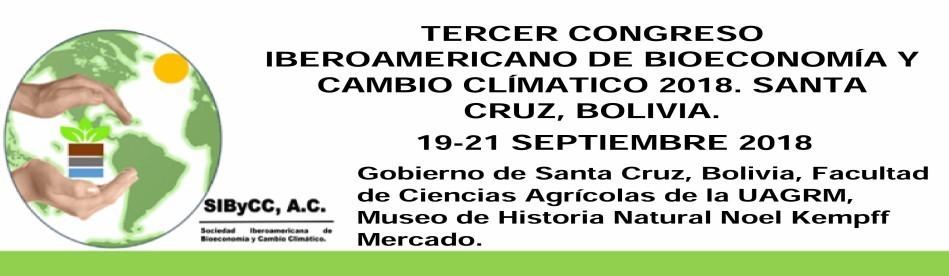 Tercer Congreso Iberoamericano de Bioeconomía y Cambio Climático