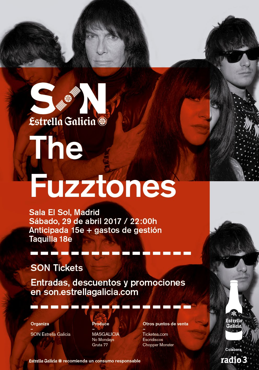 The Fuzztones - El Sol - 29/04/2017