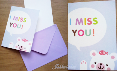 Kawaii Box - Cute Animal Greeting Card