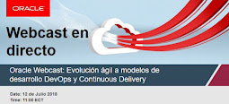 Oracle Webcast Semanal: 12 Julio