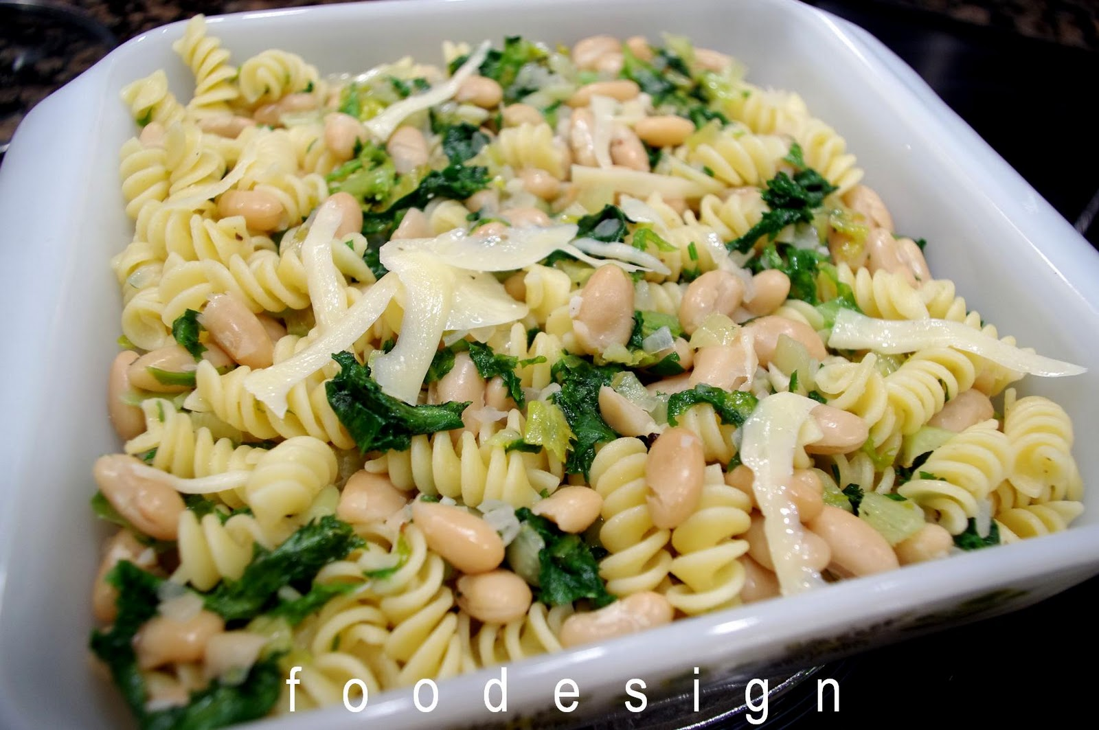 Foodesign Pasta With Beans And Escarole