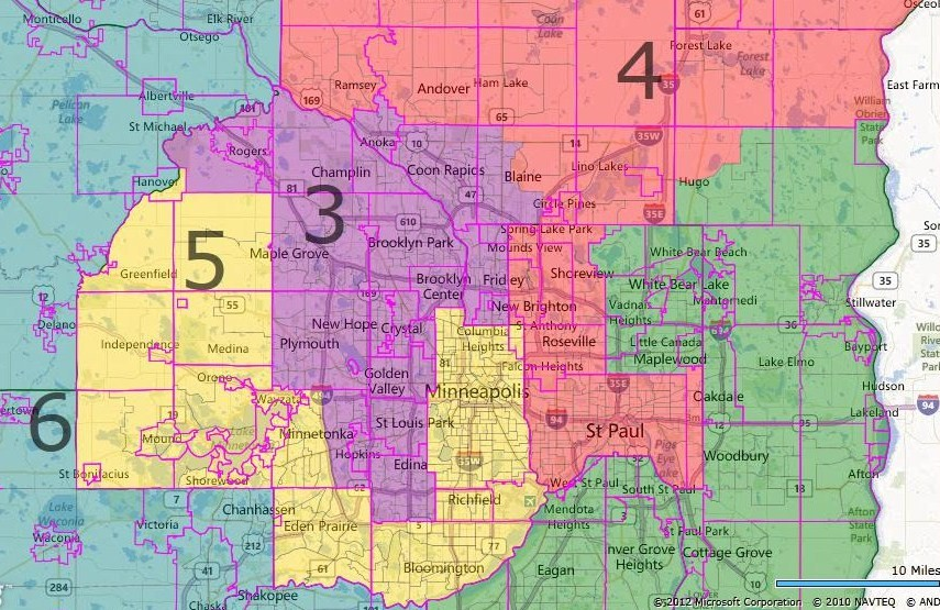 Races And Redistricting Minnesota Redistricting 71