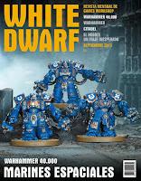 Portada White Dwarf 221 de Septiembre