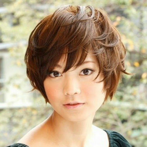 Short Hairstyles For Round Faces Young : Short hairstyles for round faces asian