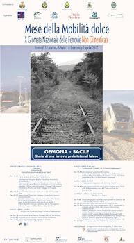 31 marzo 1 e 2 aprile X° Giornata Nazionale Ferrovie Non dimenticate (Gemona-Sacile)