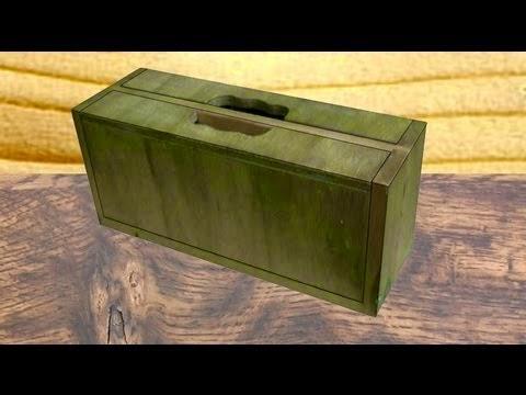 jeremy broun, folding wood case, clamshel, tool box