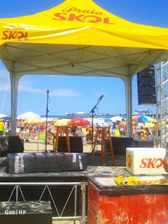 Palco do Skol Endless Summer 2013 na Plataforma de Atlântida
