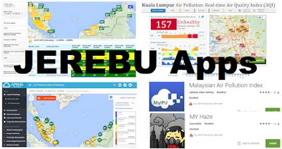 Semakan Terkini Indeks Pencemaran Udara (IPU) Jerebu Di Malaysia