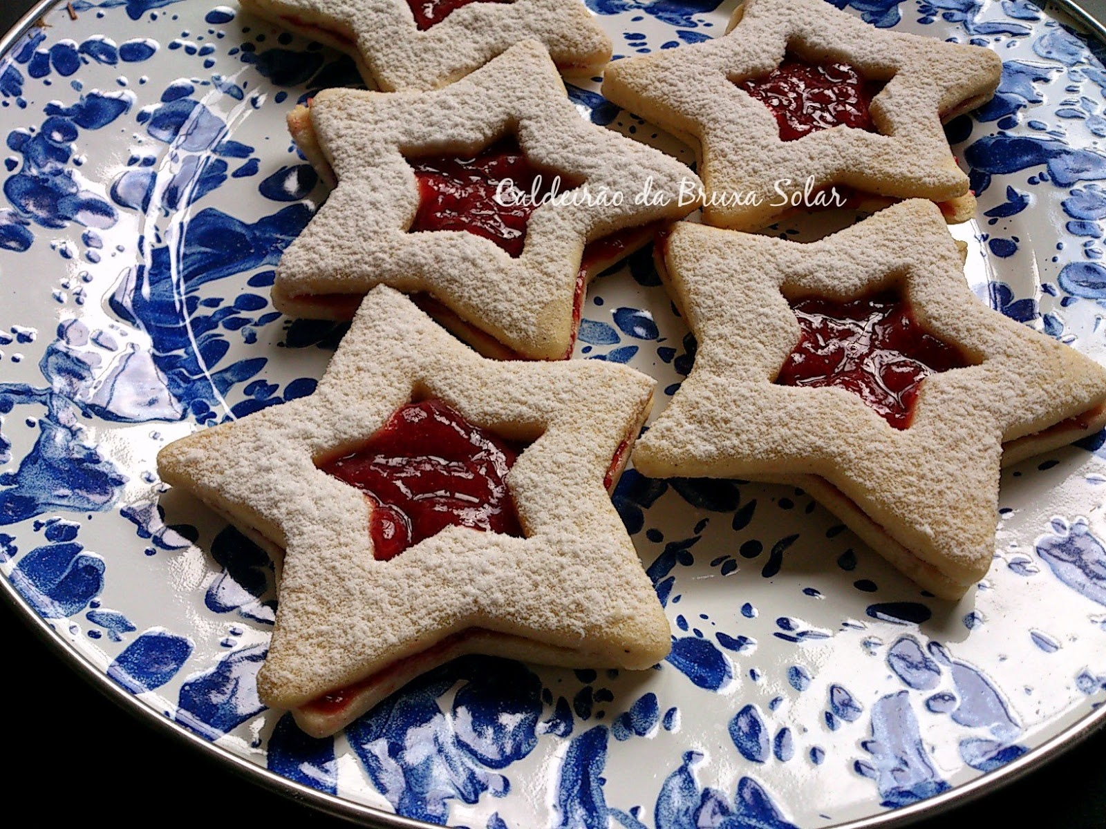 Biscoitos estrelas
