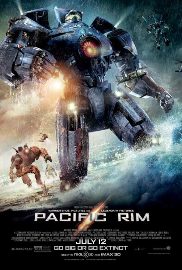 La película Pacific Rim (Titanes del Pacífico)