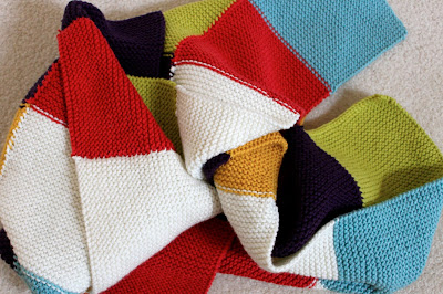 Checkerboard Knitting Pattern Blanket : adventuruss: a checkered knit blanket.