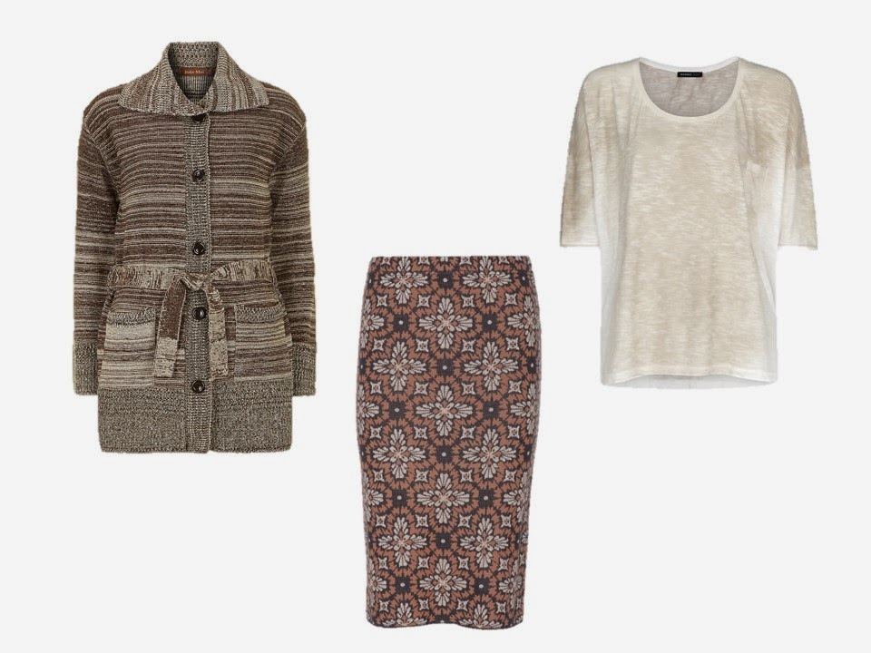 three garments to give a chalet room feel to a neutral wardrobe