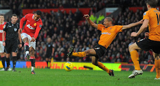 Man+Utd+Wolves+Luis+Nani+shot