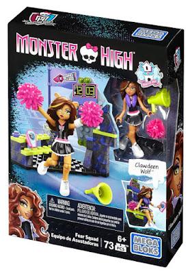 TOYS : JUGUETES - MEGA BLOKS : Monster High  Equipo de Asustadoras : Fear Squad  Producto Oficial 2015 | Mattel DLB78 | Piezas: 73 | Edad: +6  Comprar en Amazon España & buy Amazon USA