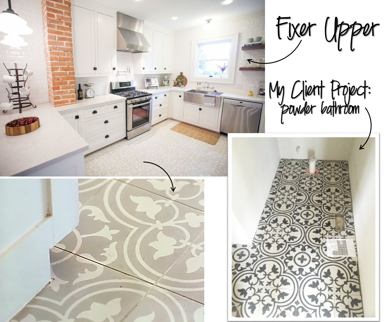 jessica stout design}: as seen on fixer upper {the brick house}