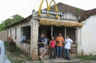 mc donalds de pobre