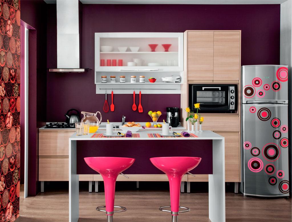 DICAS de como usar Balcões na sua Cozinha Americana Amando  #B91243 1024 778