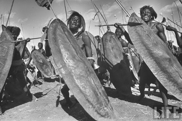 Antiguos guerreros africanos