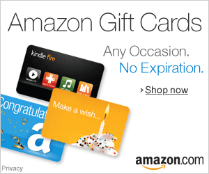 Amazon Gift Cards - Instant Delivery or Free One-Day Shipping