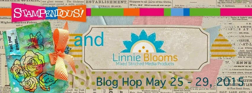 Linnie Blooms And Stampendous blog hop