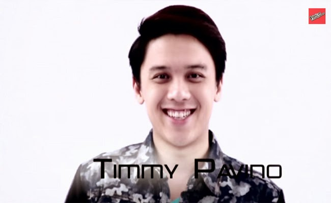 Team Lea: Watch Timmy Pavino Performance and Story The Voice of the Philippines Season 2 February 15, 2015