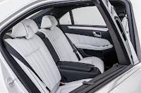 The new-generation Mercedes-Benz E-Class back interior
