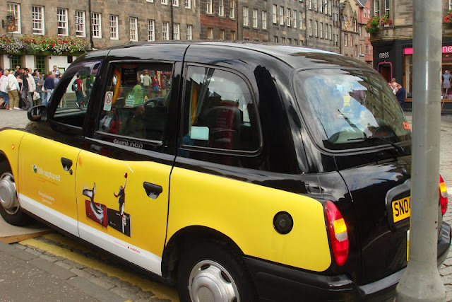 Yellow Cab at London