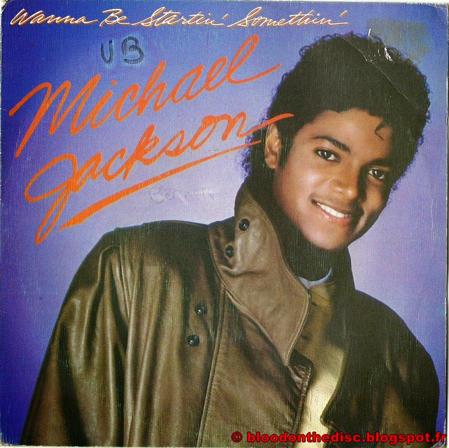 Wanna Be Startin Somethin 45T Spanish Front Cover