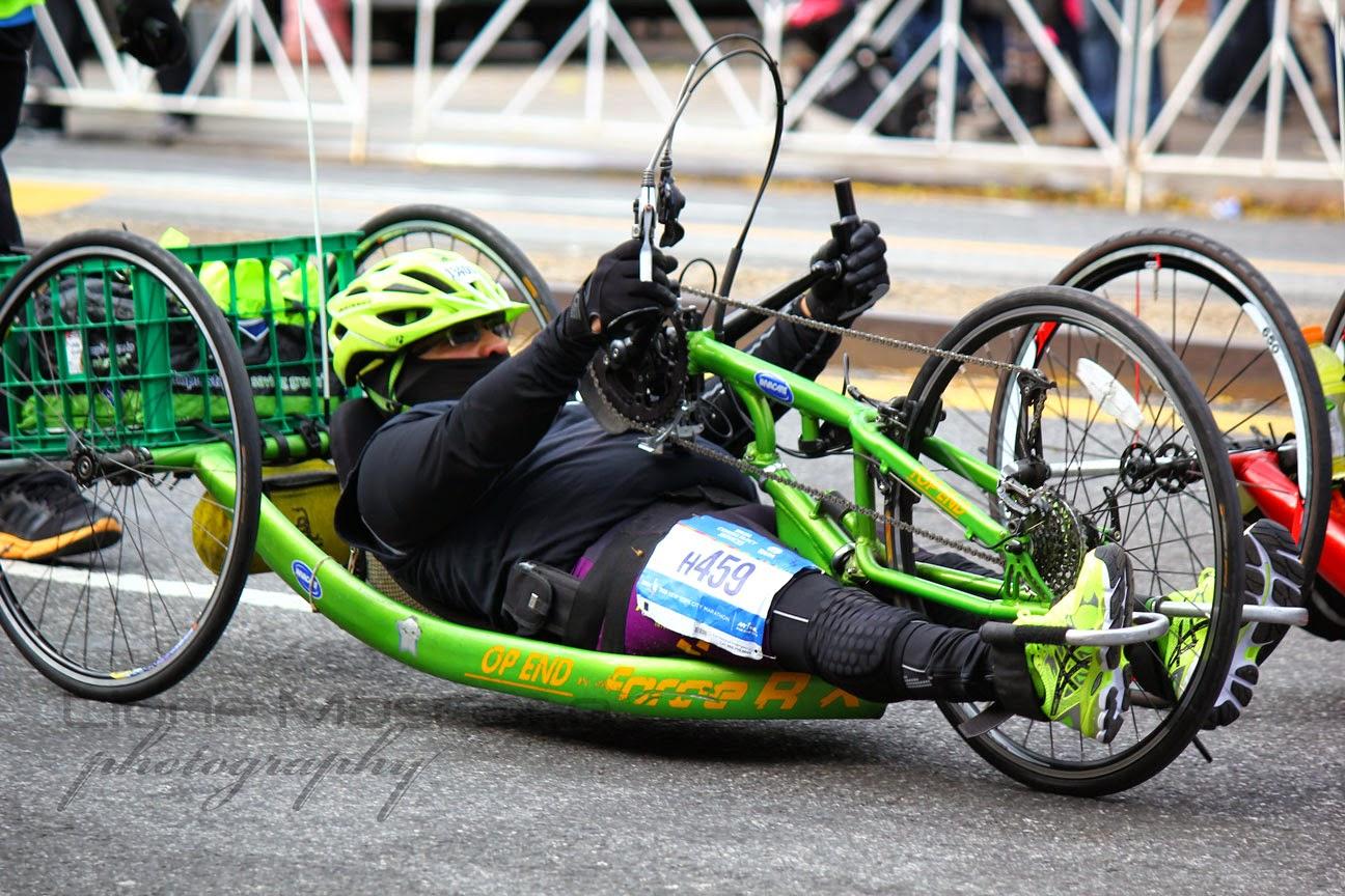 El Maratón de la Ciudad de Nueva York 2014 - Wheelchairs