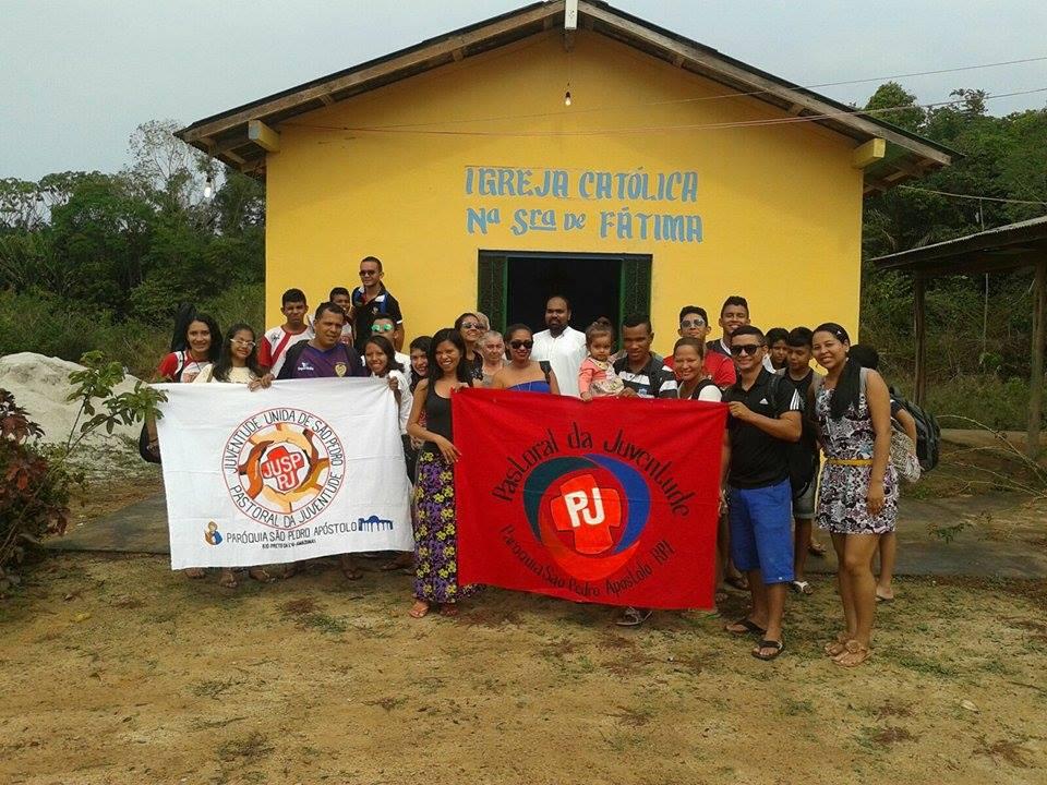 Atividades do ano de 2015 do Grupo de Jovens JUSP - Juventude Unida de São Pedro da Paróquia São Pe