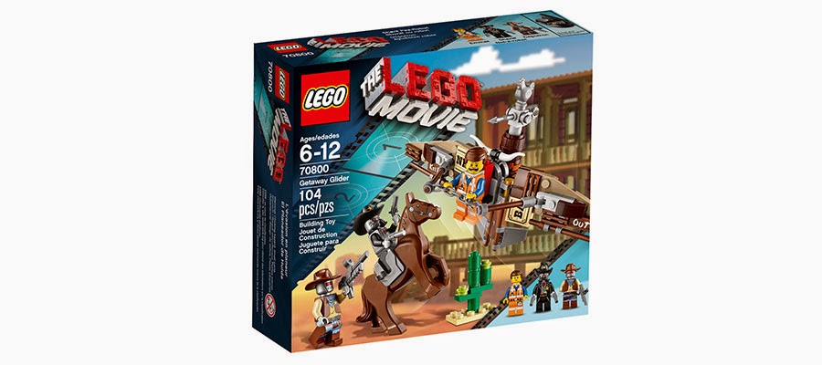 Lego Movie Getaway Glider 70800