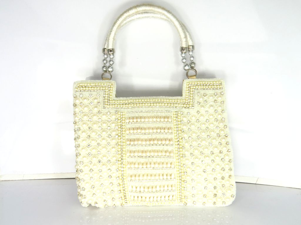 40aa302e3fe Distributor Wholesaler and Exporter of Ladies Handbags Fancy Evening Purse  from India
