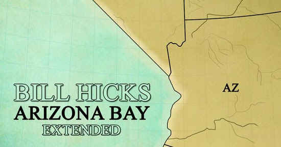 Bill Hicks Fans ARIZONA BAY EXTENDED OUT NOW - Where is arizona
