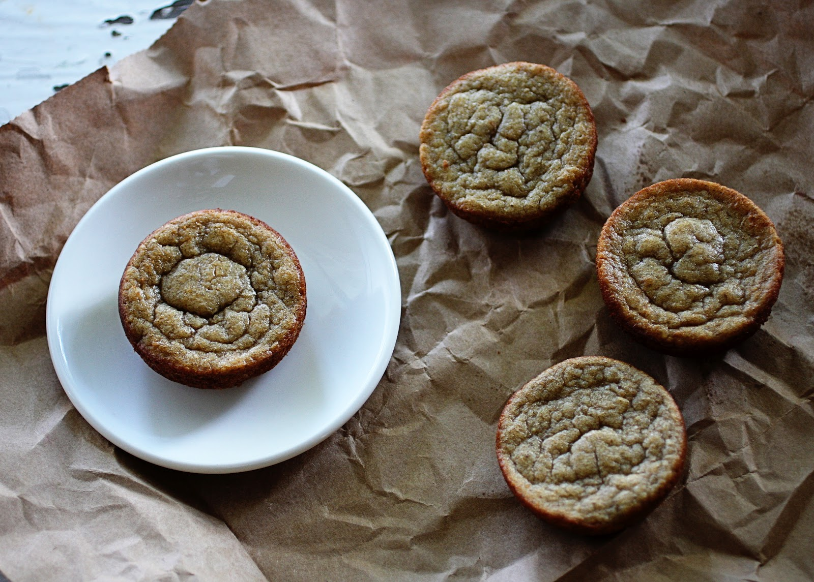 Today's Letters: {Grain Free Banana Muffins} Paleo