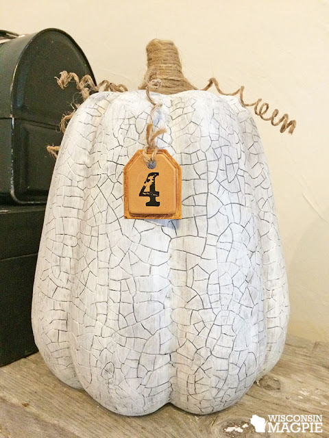 crackled pumpkin