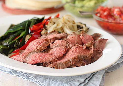 The Galley Gourmet: Grilled Steak Fajitas