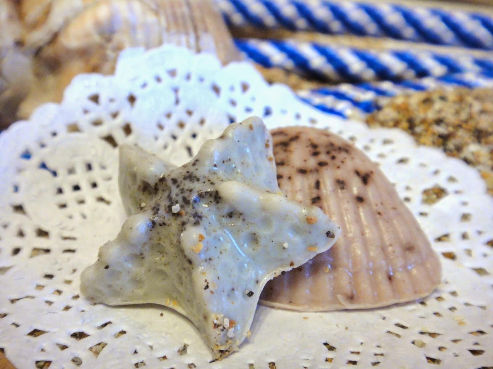 мыло морская тема