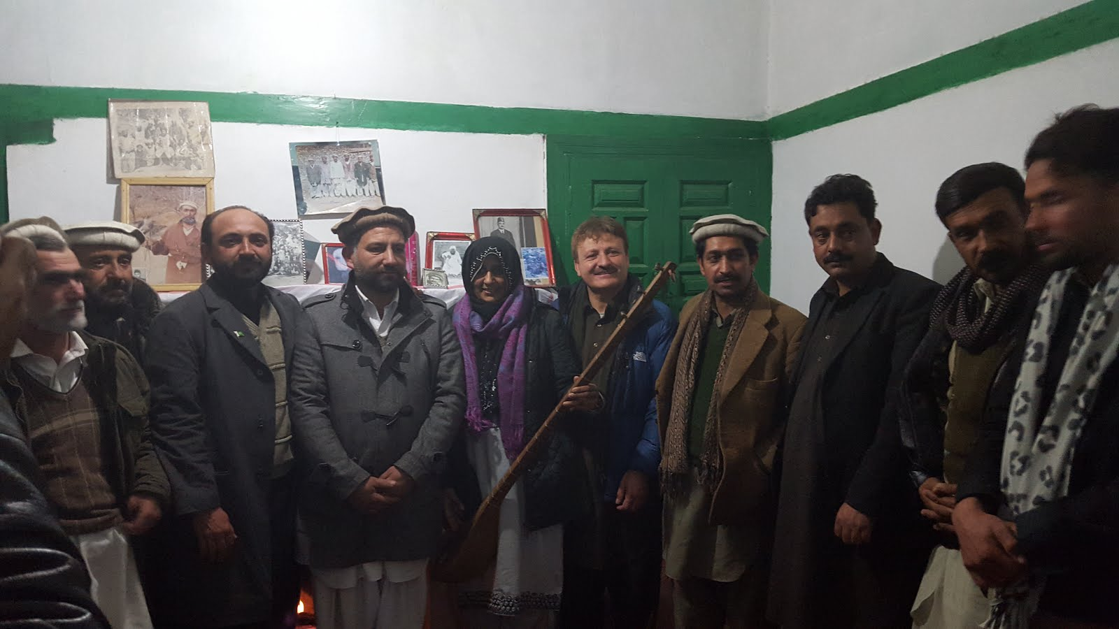 AHF WITH CHITRAL MUSICAL COMMUNITY