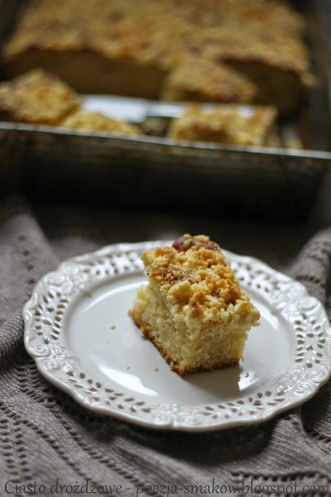 Ciasto drożdżowe samo się robiące.