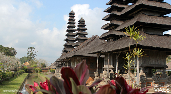 Templo Real Taman Ayun indonesia
