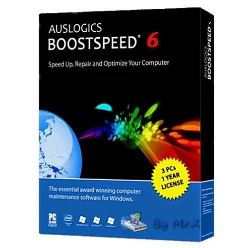Auslogics boostspeed 6 Full and Final