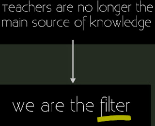 Kevin Roberts says we are no longer the main source of information but a filter.