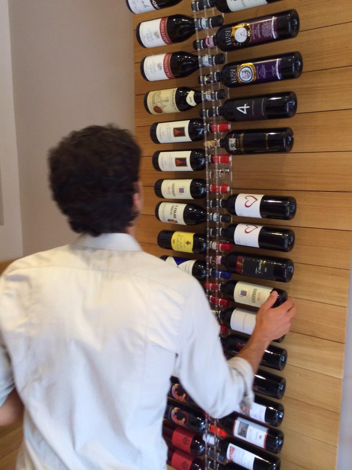 wine room in capri