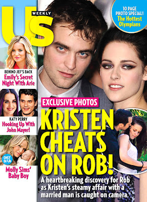 Kristen Stewart and Rupert Sanders Cheating Photos in US Weekly