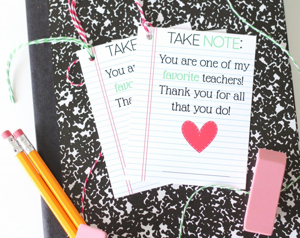 take note teacher appreciation printable the twinery take note teacher appreciation printable