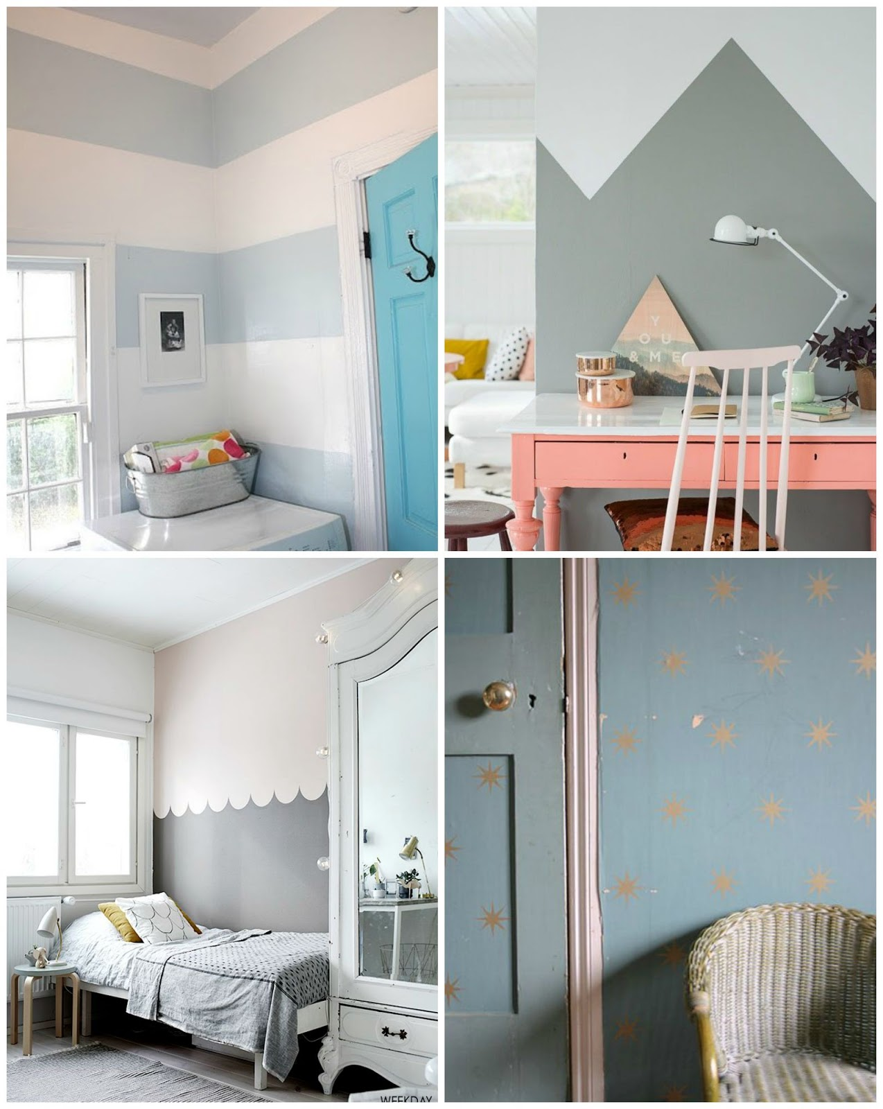 Pitis and lilus ideas diy para realizar en paredes que os - Ideas pintura paredes ...
